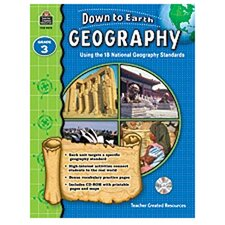 Down To Earth Geography Gr3 Bk W/cd