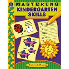 <strong>Teacher Created Resources</strong> Mastering Kindergarten Skills
