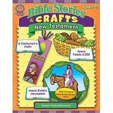 <strong>Teacher Created Resources</strong> Bible Stories & Crafts New