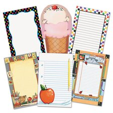 Notepad Set, 50-Sheet, 6-Pack