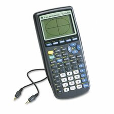 TI-83PLUS Programmable Graphing Calculator 10-Digit LCD