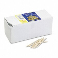 Flat Wood Toothpicks, 2500/Pack