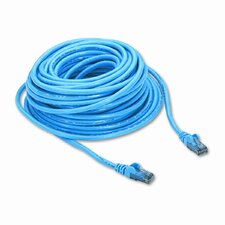 High Performance Cat6 UTP Patch Cable, 50ft, Blue