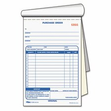 Purchase Order Book, 2-Part Carbonless, 50 Sets/Book