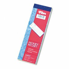 Money and Rent Receipt Books, 100 Sets/Book