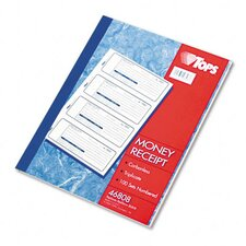 Money/Rent Receipt Books, Three-Part Carbonless, 100 Sets/Book