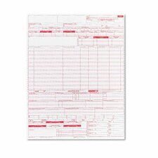 UB04 Hospital Insurance Claim Form, 2,500 Forms