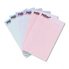 Prism Plus Colored Junior Legal Pads, 6 50-Sheet Pads/Pack