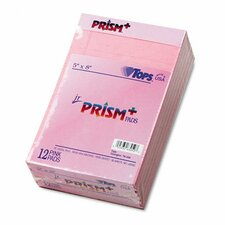 Prism Plus Colored Jr. Legal Writing Pads, 50-Sheet Pads, 12/Pack