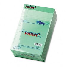 <strong>Tops Business Forms</strong> Prism Plus Colored Jr. Legal Pads, 50-Sheet Pads, 12/Pack