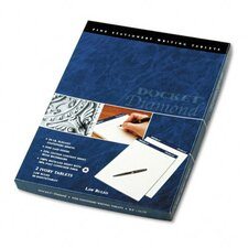 Docket Diamond Law Ruled Pads, 2 50-Sheet Pads/Box