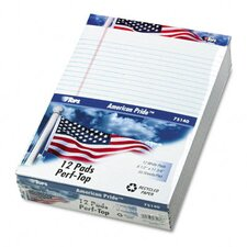 American Pride Writing Pad, Legal Rule, 50-Sheet 12/Pack