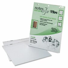 NotesPLUS Easel Pad, Unruled, 2 30-Sheet Pads/Pack