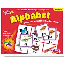 Alphabet Match Me Puzzle Game