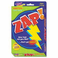 Zap Math Card Game