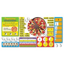 Fraction Action Bulletin Board Set