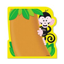 <strong>Trend Enterprises</strong> Note Pad with Monkey Design , 50 Sheets/Pad