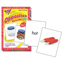 Match Me Cards Opposites 52/box
