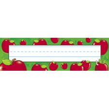 Desk Toppers Apples 36/pk 2x9