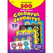 Stinky Stickers Colorful Favorites