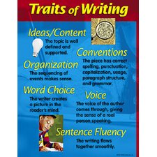 Chart Traits Of Writing 17 X 22