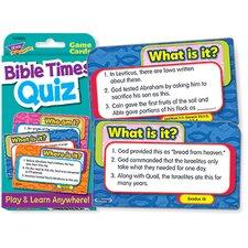 Challenge Cardsbible Times Quiz