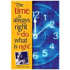 Poster The Time Is Always Right To