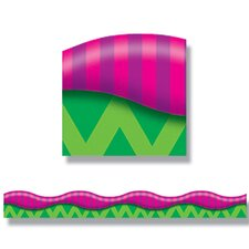 New Wave Stripes Pink & Purple 12pk