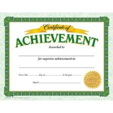 Certificate Of Achievement Classic