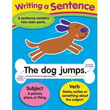 Learning Chart Writing A Sentence