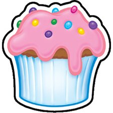<strong>Trend Enterprises</strong> Mini Accents Cupcake 36/pk 3in