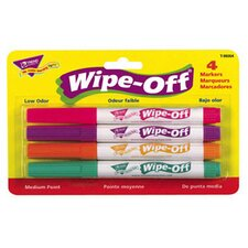 <strong>Trend Enterprises</strong> Wipe Off Marker 4 New Colors