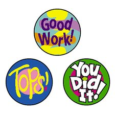 Superspots Stickers Cheer Words