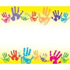 <strong>Trend Enterprises</strong> Name Tags Rainbow Handprints 36pk