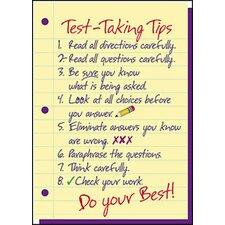 Poster Test-taking Tips