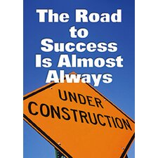 Poster The Road To Success Is