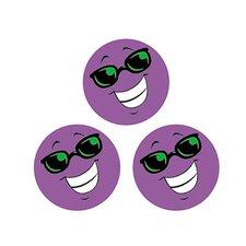 Stinky Stickers Purple Smiles/grape