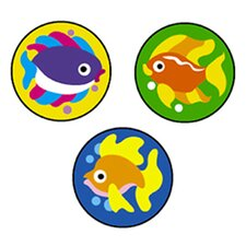 Superspots Stickers Fabulous Fish