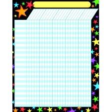 Gel Stars Incentive Chart