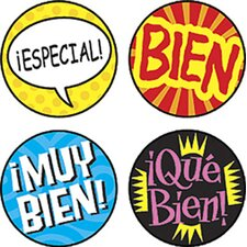 Superspots Stickers Palabras De