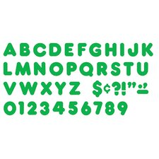 Ready Letters 4in Casual Green