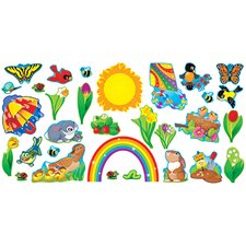 Bulletin Board Set Spring Things