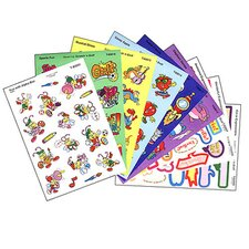 Stinky Stickers Mixed Shapes 525/pk