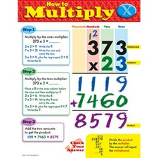 Chart How To Multiply Gr 3-5