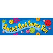Smile God Loves You Bookmark