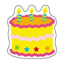 Mini Accents Birthday Cake 36pk 3in