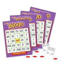 Bingo Multiplication Ages 8 & Up