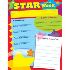 Learning Chart Star Of The Week