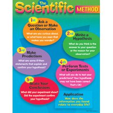 Chart The Scientific Method Gr 4-8