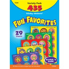 Stinky Stickers Fun Favorites 435pk